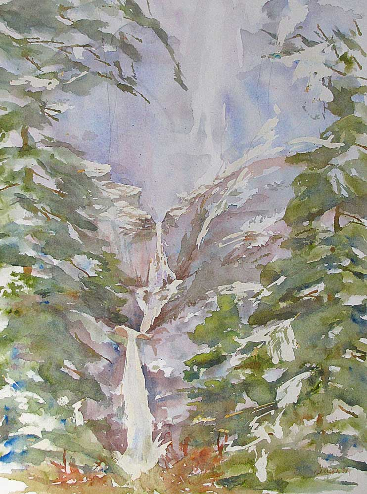 watercolor - Jill Mellick