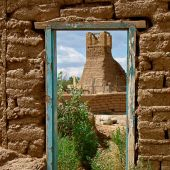 Taos Pueblo, Northern New Mexico: Doorway - Landscape Photography